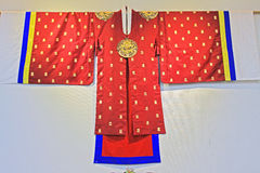 Korea Traditional Hanbok Clothes Stock Image