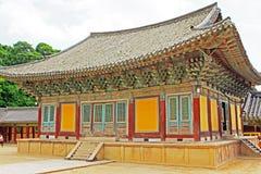 Korea UNESCO światowe dziedzictwo - Bulguksa świątynia fotografia royalty free