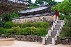 Korea UNESCO światowe dziedzictwo - Bulguksa świątynia zdjęcia royalty free