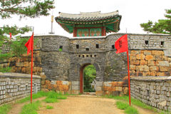 """Korea UNESCO-Welterbestätten †""""Hwaseong-Festung Lizenzfreie Stockfotos"""