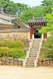 Korea UNESCO World Heritage - Bulguksa Temple. Bulguksa Temple was built in 528 during the Silla Kingdom. Bulguksa Temple is the representative relic of Gyeongju stock photos