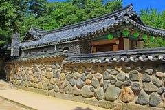 Korea UNESCO World Heritage - Bulguksa Temple. Bulguksa Temple was built in 528 during the Silla Kingdom. Bulguksa Temple is the representative relic of Gyeongju Stock Photo