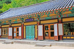 Korea UNESCO World Heritage - Bulguksa Temple. Bulguksa Temple was built in 528 during the Silla Kingdom. Bulguksa Temple is the representative relic of Gyeongju Royalty Free Stock Images