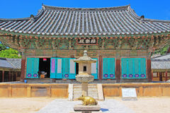 Korea UNESCO World Heritage - Bulguksa Temple. Bulguksa Temple was built in 528 during the Silla Kingdom. Bulguksa Temple is the representative relic of Gyeongju stock photography