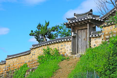 Korea UNESCO World Heritage - Gyeongju Yangdong Village. Gyeongju Yangdong Village is Korea's largest traditional village, showcasing the traditional culture Royalty Free Stock Photography