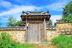 Korea UNESCO World Heritage - Gyeongju Yangdong Village. Gyeongju Yangdong Village is Korea's largest traditional village, showcasing the traditional culture Stock Photos