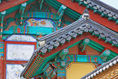 Korea UNESCO World Heritage - Haeinsa Temple Royalty Free Stock Photo