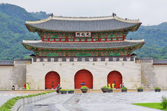 Korea UNESCO World Heritage Sites � Gyeongbokgung Royalty Free Stock Photo