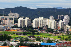 Korea UNESCO World Heritage Sites – Hwaseong Fortress and Suwon City Stock Photography