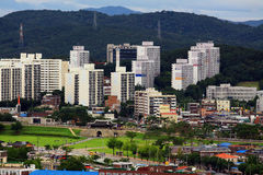 Korea UNESCO World Heritage Sites – Hwaseong Fortress and Suwon City Royalty Free Stock Images