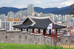 Korea UNESCO World Heritage Sites – Hwaseong Fortress and Suwon City Royalty Free Stock Image