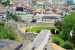 Korea UNESCO World Heritage Sites – Hwaseong Fortress and Suwon City Royalty Free Stock Photo
