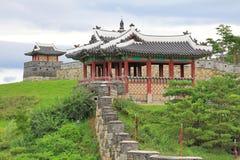 Korea UNESCO World Heritage Sites – Hwaseong Fortress Stock Photos