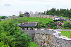 Korea UNESCO World Heritage Sites – Hwaseong Fortress Royalty Free Stock Photography