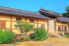 Korea UNESCO World Heritage Sites - Hahoe Folk Village. The UNESCO World Heritage Historic Village of Korea Hahoe royalty free stock photos