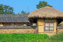 Korea UNESCO World Heritage Sites - Hahoe Folk Village. The UNESCO World Heritage Historic Village of Korea Hahoe royalty free stock photography