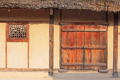 Korea UNESCO World Heritage Sites - Hahoe Folk Village. The UNESCO World Heritage Historic Village of Korea Hahoe royalty free stock photo