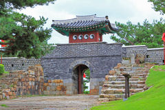 Korea UNESCO World Heritage Sites – Hwaseong Fortress Stock Photo