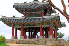 Korea UNESCO World Heritage Sites – Hwaseong Fortress Pavilion Stock Photo