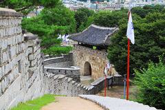 Korea UNESCO World Heritage Sites – Hwaseong Fortress and Suwon City Royalty Free Stock Photos