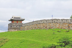 Korea UNESCO World Heritage Sites – Hwaseong Fortress Royalty Free Stock Images
