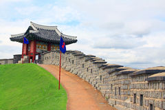 Korea UNESCO World Heritage Sites – Hwaseong Fortress Stock Photography