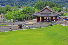 Korea UNESCO World Heritage Sites – Hwaseong Fortress Royalty Free Stock Image
