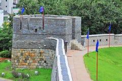 Korea UNESCO World Heritage Sites – Hwaseong Fortress Stock Images