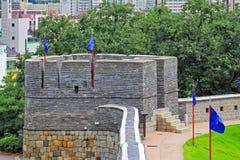 Korea UNESCO World Heritage Sites – Hwaseong Fortress Royalty Free Stock Photos