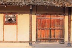 Korea UNESCOvärldsarv - Hahoe Folkby Royaltyfri Foto