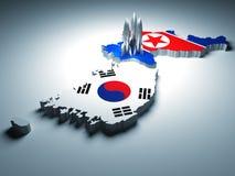 korea wojna ilustracji