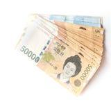 Korea Won Stock Image