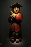 Korea Wood Antique Puppet Stock Photo
