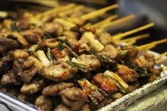 Koreaan chiken vleespennen Royalty-vrije Stock Foto