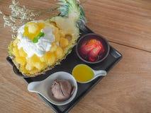 Koreaans Dessert stock afbeelding