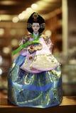 Koreaans Doll royalty-vrije stock foto's
