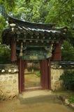 Koreaans huis Stock Afbeeldingen