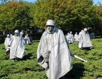 Koreaans Oorlogsgedenkteken Stock Afbeeldingen
