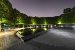 Koreaans Oorlogsgedenkteken, Washington, gelijkstroom Royalty-vrije Stock Foto's