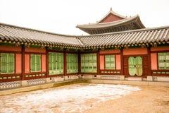 Koreaans paleis stock afbeeldingen