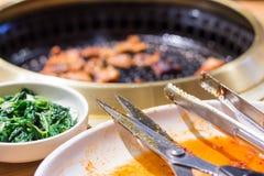 Koreaans Voedsel Stock Foto