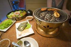 Koreaanse barbecue. Royalty-vrije Stock Afbeelding