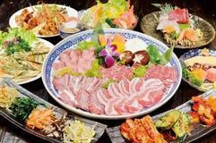 Koreaanse barbecue royalty-vrije stock afbeeldingen