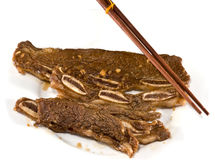 Koreaanse BBQ Kalbi Royalty-vrije Stock Fotografie