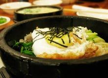 Koreaanse Bibim Bap royalty-vrije stock foto's