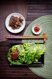 Koreaanse Bulgogi Stock Afbeeldingen
