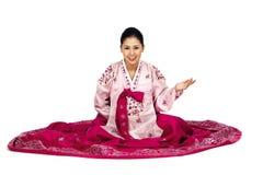 Koreaanse Dame Royalty-vrije Stock Afbeelding