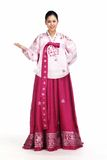 Koreaanse Dame Royalty-vrije Stock Foto's