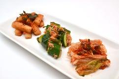 Koreaanse groenten in het zuur Stock Fotografie