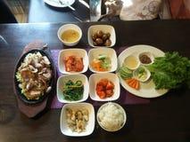 Koreaanse keuken! stock fotografie